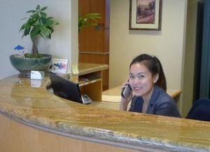 Renton dentist receptionist
